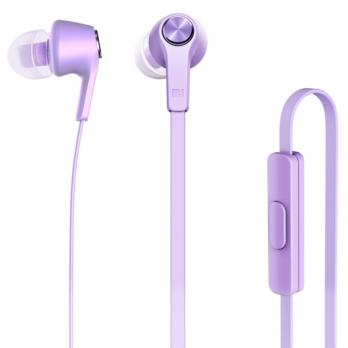 Наушники Xiaomi Mi Piston Basic Edition In-Ear Headphones (Сиреневый)